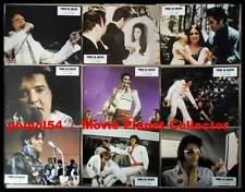 THIS IS ELVIS - Elvis Presley - 9 PHOTOS ORIGINALES / 9 LOBBY CARDS