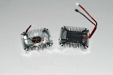 2pcs Aluminum Heatsink with fan for 5W/10W High Power LED Cooling DC12V  A269 US