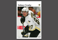Rare SIDNEY CROSBY DEBUT GAME (2005) Pittsburgh Penguins Retro SI-Style POSTER