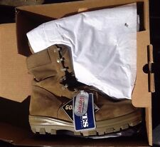 Bates USMC US Military Branded GoreTex Boots Sage Size 12.5W   12 1/2 WIDE