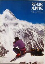 Revue Alpine n°510 - 1985 - Le K2 - Le Tour du Cervin - Bivouac -  CAF