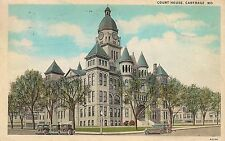 Court House in Carthage MO Postcard 1930