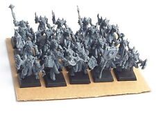 Mantic Games Kings of War inferiore abyssals x 20. assemblato
