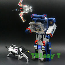 Transformers G1 Soundwave Ravage Laserbeak + BONUS 4 Cassettes Action Figure KO