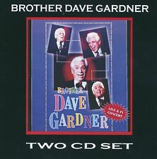 Brother Dave Gardner - Live in Concert - Two CD Set - 90 min of Brother Dave
