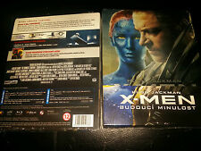 X-Men: Days Of Future Past BluRay FilmArena Emboss Steelbook 1/4 Slip New&Sealed