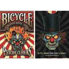 Bicycle Psycho Clowns Playing Card (Limited Edition) - Deck Magic Trick