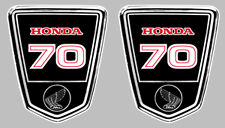 DAX 70 AUTOCOLLANTS X 2 STICKERS 95mmx80mm MOTO BIKER ENDURO TRAIL (HA130)