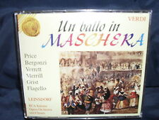 Verdi - Un Ballo in Maschera - Price / Bergonzi / Verrett / Leinsdorf -2CD-Box
