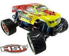 HSP 1/16 94186 pro Electric Brushless 4WD OFFROAD RC Monster Truck Kids GIFT