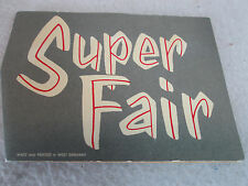 Vintage 1960s Super Fair Stores sewing needle gift pack