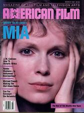 American Film Magazine March 1987 Vol XII No 5 Woody Talks About Mia