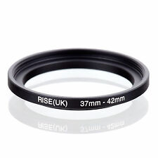 37mm to 42mm 37-42 37-42mm37mm-42mm Stepping Step Up Filter Ring Adapter