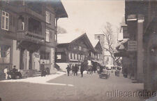 * SWITZERLAND - Adelboden - Photocard, Post Office and Coiffeur 1926