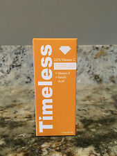 New in Box! Timeless 20% Vitamin C + Vitamin E + Ferulic Acid Serum 1oz/30ml