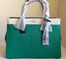 NWT KATE SPADE NEW YORK Cameron Street Candace Handbag $378 Emerald Ring mult