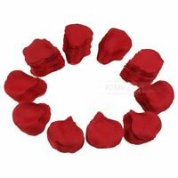 Pack of 1000 Red Silk Rose Petals Wedding Flowers New
