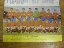 1967/1968 Football League Review: Vol 2 No 25 - Colour Picture - Oldham Athletic