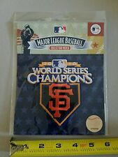 Official MLB Baseball Patch World Series CHAMPIONS 2010 SF Giants-Texas Rangers