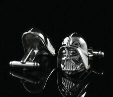 Men`s Boy Wedding Party Gift Star War Darth Vader Fashion Cufflinks KZ52