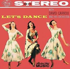 DAVID CARROLL & HIS ORCHESTRA - Let's Dance (lounge music/bachelor pad ) CD