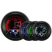 Prosport Evo 60mm Lcd 35 Psi Boost Gauge 4 Color Con Pico Y advertencia