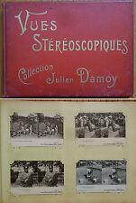 Album de Vues stéréoscopiques Collection Julien DAMOY vers 1900