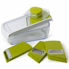 Sabichi mandoline 5 way nourriture coupe-légumes cutter râpe shredder set