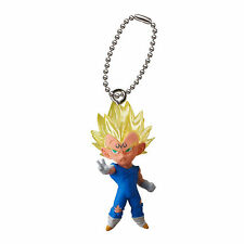 Dragon Ball Z UDM Mascot Swing PVC Keychain SD Figure ~ Majin Vegeta @6504