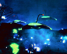 THE WAR OF THE WORLDS COLOR PHOTO MARTIAN SPACESHIPS