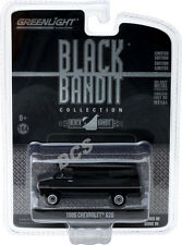 GREENLIGHT 1986 CHEVROLET G20 VAN BLACK BANDIT 1/64 DIECAST CAR 27880 C