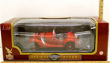 Yat Ming 1940 BMW 328 1:18 Scale Die Cast Car Vintage Road Legends #92288 NIB