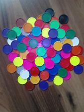 50 St. Einkaufswagenchips Trolley Coins Bunt Colorful passt in alle Wagen PayPal