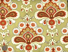 "Superbe FAT QUATER TISSU AMY BUTLER ""BELLE - DUCK EGG FRENCH WALL PAPER VERT"""