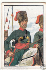 Cossack Hanseatic Legion Hansa Städte Army Napoleon War Uniform IMAGE CARD 30s