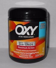Oxy Rapid Treatment 3-in1 Acne Pads Maximum Action 90ct