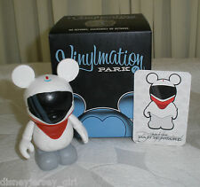 "Disney Vinylmation 3"" Park Series 1 Red Monorail Box & Card 2008"
