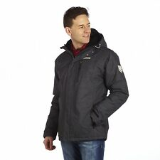 Regatta Hunterspoint Mens Water-Repellent Insulated Jacket Grey Size XXL