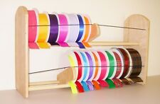 "GSS Maxi 24"" Oversize (6 1/4"") Ribbon Spool Organizer Desk/Wall Mount EZ Load!"