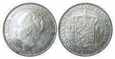 NIEDERLANDE KM 165;  2 1/2 Gulden Wilhelmina 1937 in VZ-STG  447037