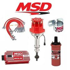 MSD Ignition Kit- Digital 6AL/Distributor/Wires/Coil/ - Ford FE 360/390/427/428