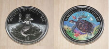 1998 Palau Large Color  $1 Turtle/Bare-breasted Mermaid/Parrot