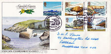 1981 National Trust - Unusual Cover - Flown in Helicopter to Stackpole Head