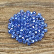 100pcs Swarovski 5301# 4mm Bicone crystal beads color&quantity optional