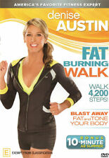Denise Austin: Fat Burning Walk  - DVD - NEW Region 4