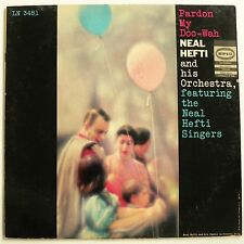 NEAL HEFTI AND HIS ORCHESTRA - PARDON MY DOO-WAH. Demo LP vg++ Smooth Vocal Jazz