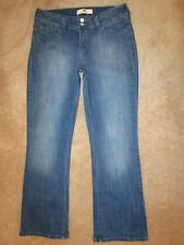 Levis 526 Slender Boot Stretch Flap Pockets Womens Blue Jeans Size 6 S x 29 Mint