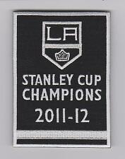 LOS ANGELES KINGS 2012 STANLEY CUP FINAL CHAMPIONS BANNER PATCH KINGS JERSEY