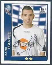 TOPPS 2010 PREMIER LEAGUE - #103-BOLTON WANDERERS-MARK DAVIES