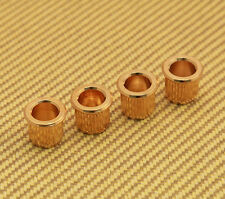 004-9763-049 (4) Gold Fender Amer.Deluxe Jazz P Bass Body String Ferrules - Gold